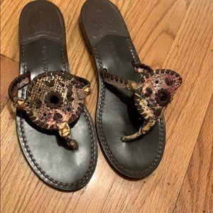 Pristine Jack Rogers 9.5 Hampton Flat Sandals